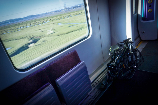 Tern Link P24h: On the train 1