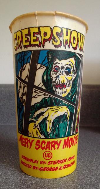 Vintage SOLO Creepshow Movie Theatre Wax Soda Cup | Flickr ...