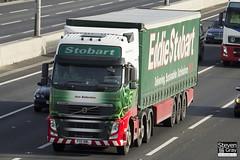 Volvo FH 6x2 Tractor - PX11 BWL - Ann Ballentine - Eddie Stobart - M1 J10 Luton - Steven Gray - IMG_3283