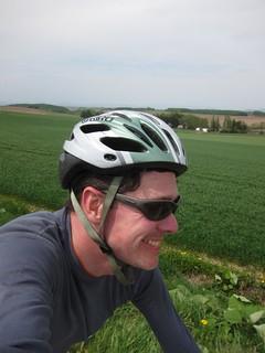 Biking around Biei