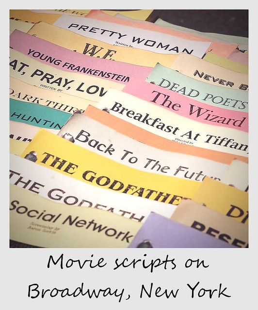 polaroid of the week new york city broadway screenplays