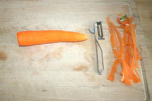 27 - Möhre schälen / Peel carrot