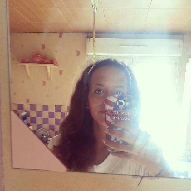 Je préfère mes cheveux se matin ^^