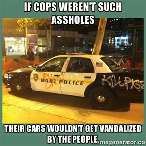 cops ahole