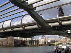 London's Millenium Bridge