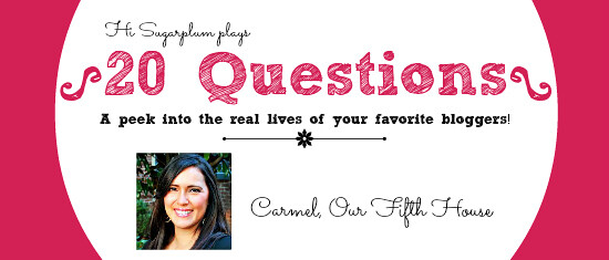 20 questions Carmel