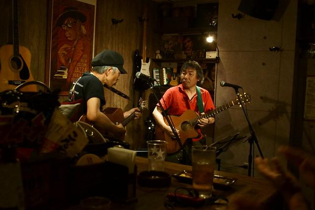 春日善光 live at 楽や, Tokyo, 16 Aug 2013. 035