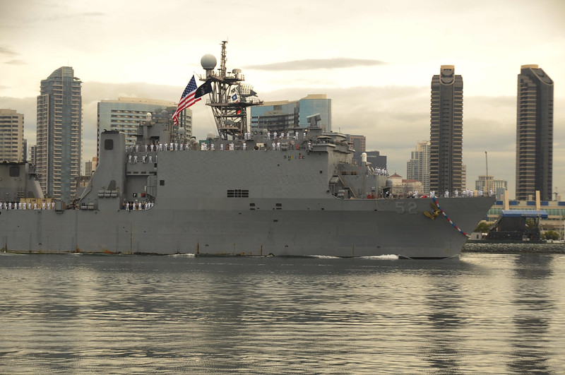 USS Pearl Harbor Returns Home
