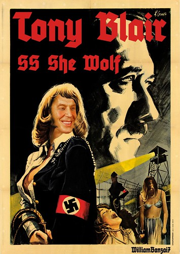 TONY BLAIR SS SHE WOLF by WilliamBanzai7/Colonel Flick