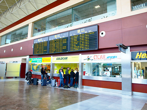 Car Hire, Tenerife South Airport