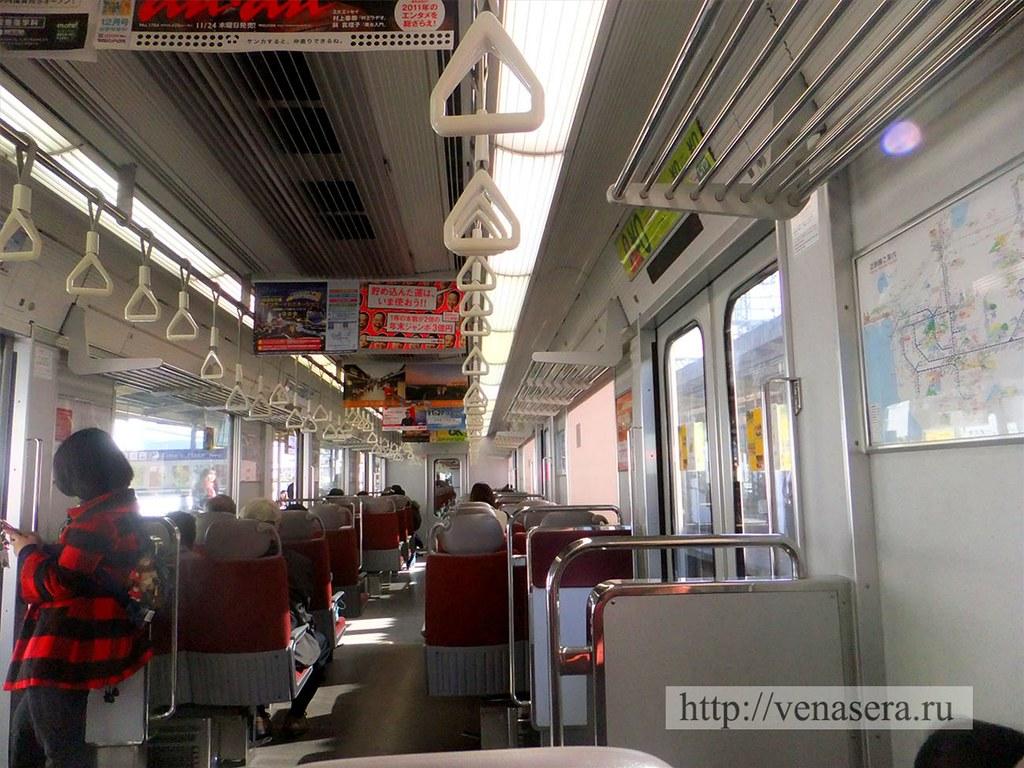 Таким вот транспортом добирались от г. Осака до г. Нара