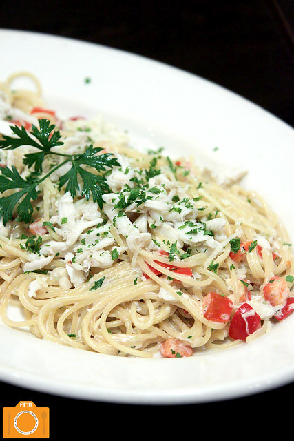 Creamy Crab Spaghetti