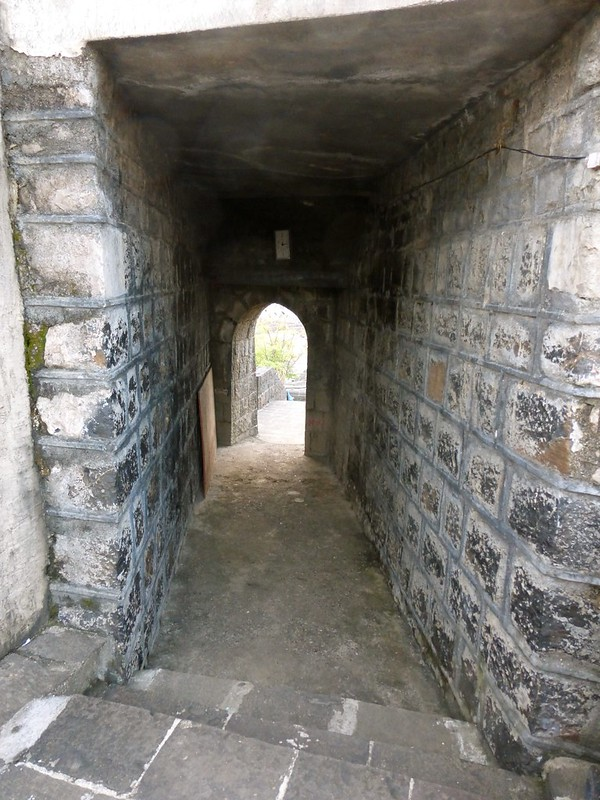 Worli Fort - arched entrance and passage