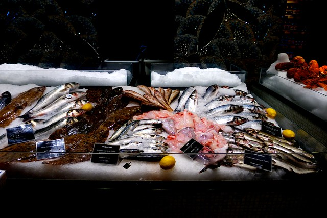 鮮魚もねえ。いいんだよねえ。