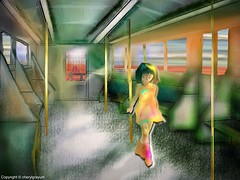 Girl on A Train - perspective  challenge