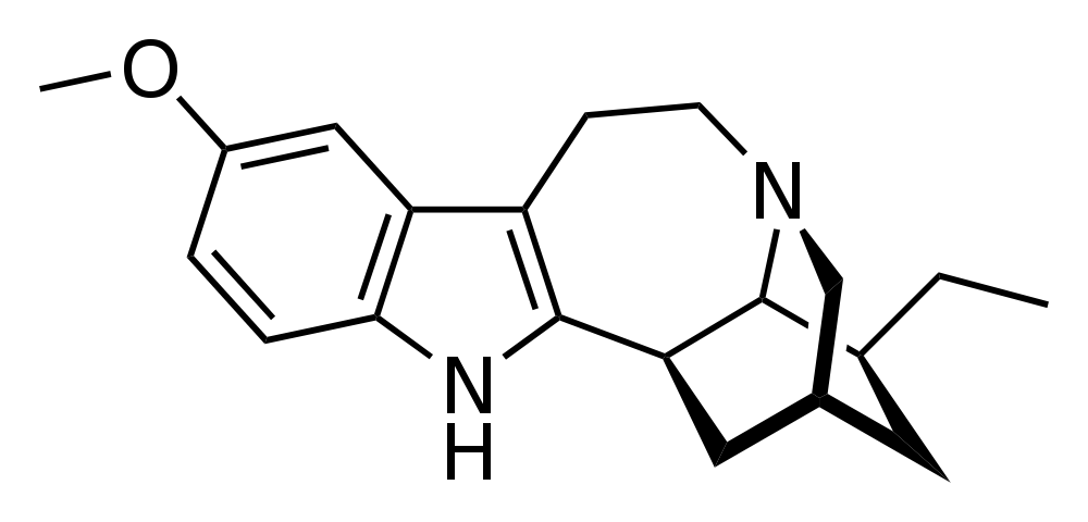 ibogaine chemical structure
