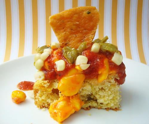Nacho cake