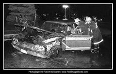 1976-10/11 - Car Fire, Manetto Hill Road, Plainview, NY