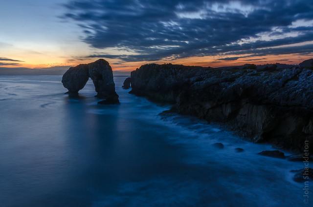 Sunrise - Castro de las Gaviotas, Asturias IV