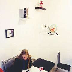 #caffee #samara #break #wall #girl #evening Полина