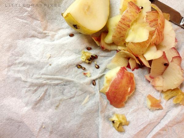 Apple Upside Down Cake Recipe • Little Gold Pixel
