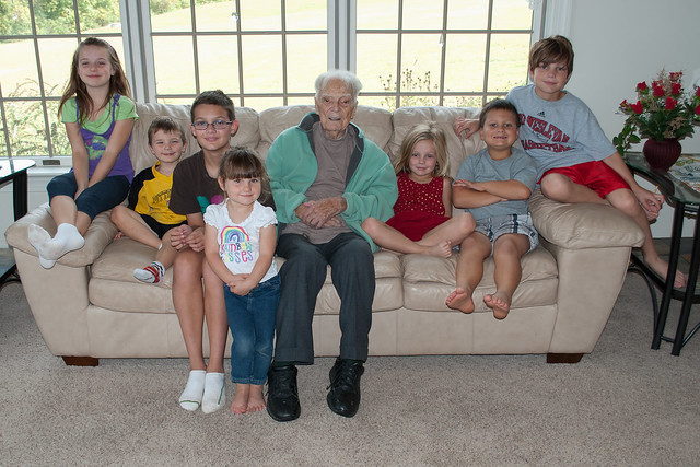 Pop-Pop and the Great Grandkids
