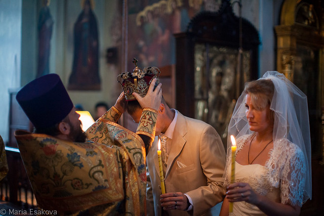 Михаил Марина венчание