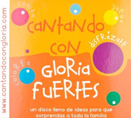 Cubierta de Cantando con Gloria Fuertes