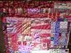 Splash quilt (top half) by .leila