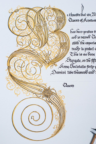 Queen's Champion Scroll