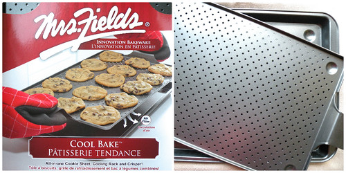 Mrs. Fields Secrets Cool Bake Pan