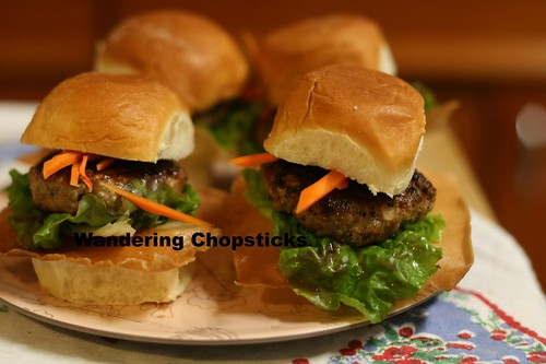 Nem Nuong (Vietnamese Grilled Pork Patty) Sliders 11