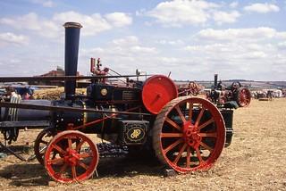 Mann tractor 1325 (U4748) of 1918, Great Dorset Steam Fair, September 1993 Scans839