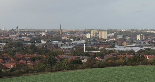 Wakefield From Sandal Castle