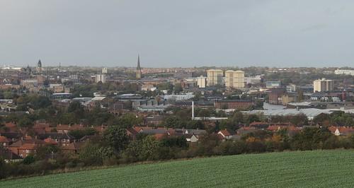 Wakefield From Sandal Castle