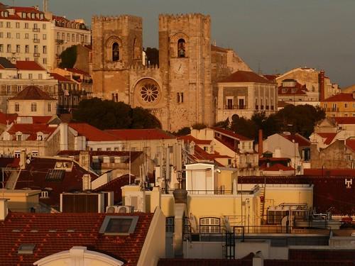 Vistas desde el Arco del Triunfo de la Rúa Augusta (Lisboa)