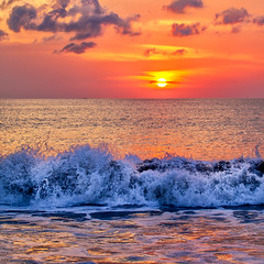 Sunset @ Jimbaran Beach