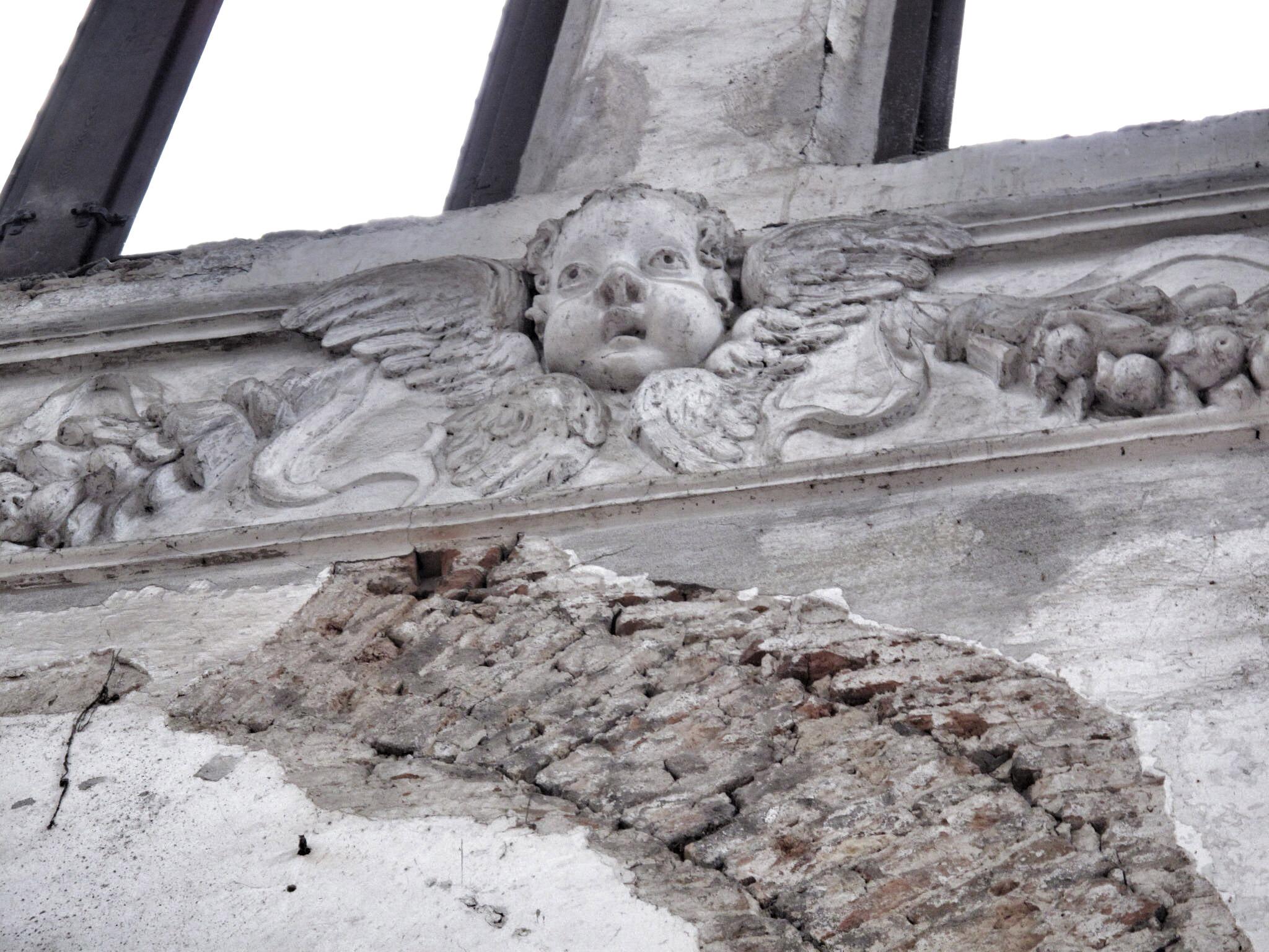 iglesia san lorenzo_venecia_restauración_restos arqueológicos_ángeles