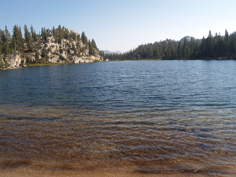 View from the north shore of Miller Lake