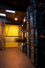 yellow, light, architecture, interior design, warehouse, lighting,