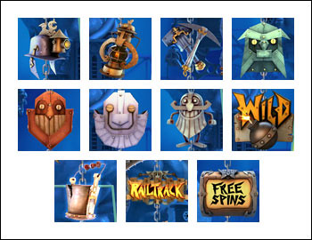 free Boom Brothers slot game symbols