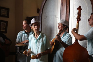 Cuba music band in Sancti Spiritus