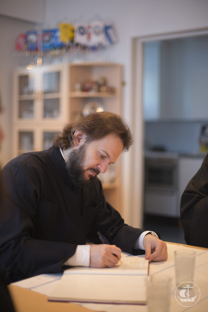 14 декабря 2013, Паломническая поездка делегации СПбПДА к святыням Финляндии. День 2-й.