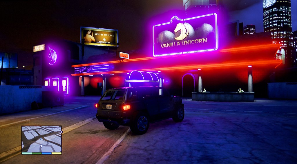 2013-12-24 GTA5 Vanilla Unicorn