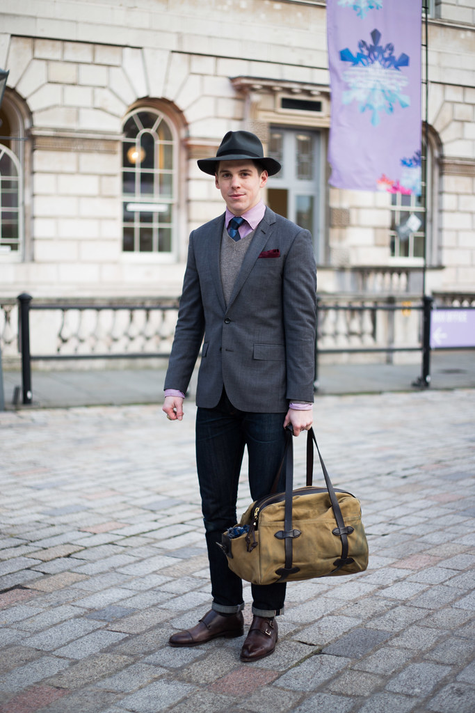 Street Style - Robert Spangle, Somerset House