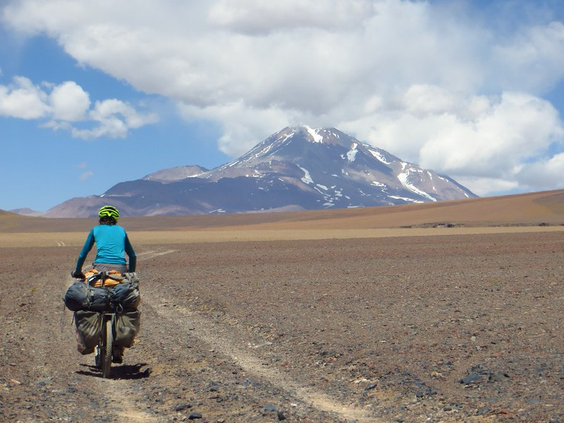 Cycling to Llullaillaco