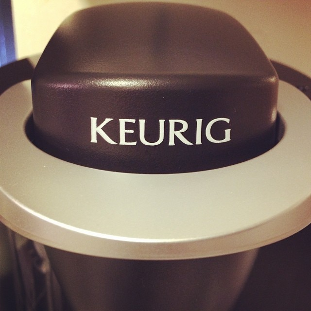 Ohhhhh yes. My holiday gift to myself. #coffee #keurig