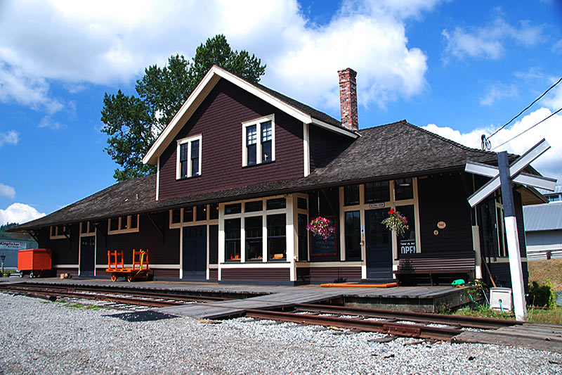 Rail Museum, Port Moody, Greater Vancouver, British Columbia, Canada