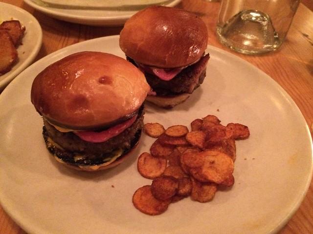 Oxtail mini hamburguesa - Contigo