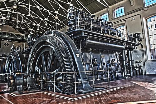 HDR motor del metro
